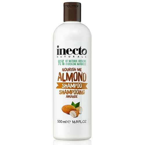 Шампунь питательный с маслом миндаля Inecto Naturals Almond