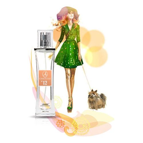 Духи и парфюмированная вода LAMBRE №12 – носят мотивы Be Delicious от DKNY