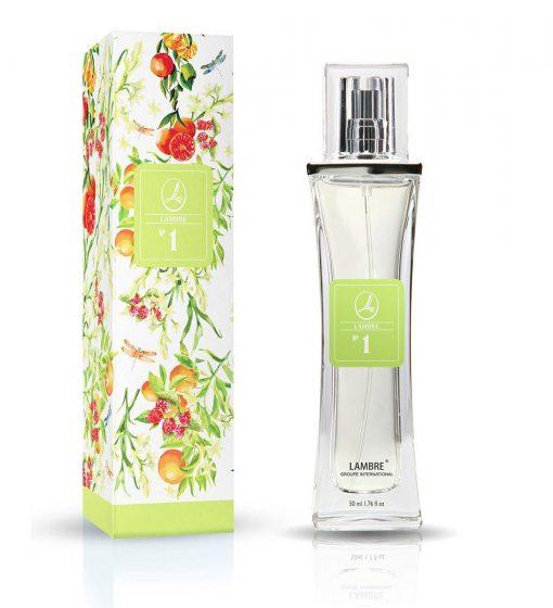 Духи и парфюмированная вода LAMBRE №1 – созвучны с ароматом Joy of Pink от Lacoste