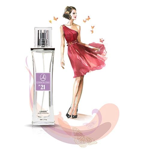 Духи и парфюмированная вода LAMBRE №21 – известны как Amor Amor от Caccharel