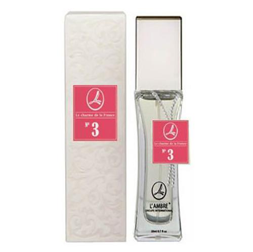 Духи и парфюмированная вода LAMBRE №3 – аналогичны аромату Lady Million от Paco Rabanne