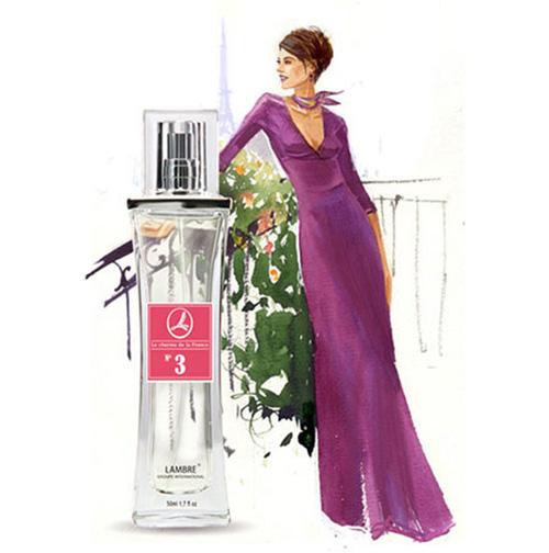 """Духи и парфюмированная вода LAMBRE №3 – аналогичны аромату """"Lady Million"""" от Paco Rabanne"""