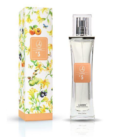 Духи и парфюмированная вода LAMBRE №5 – напоминают Hugo Woman от Hugo Boss
