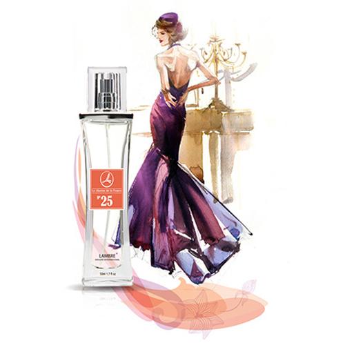 Духи и парфюмированная вода LAMBRE №25 – напоминают Magie Noire (Черная магия) от Lancome