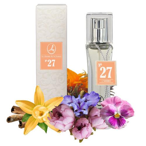 Духи и парфюмированная вода LAMBRE №27 – для тех, кому нравится Echo Woman (Эхо женщины) от Davidoff