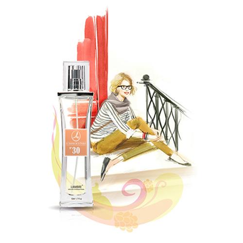 Духи и парфюмированная вода LAMBRE №30 – соответствуют аромату Chance от Chanel