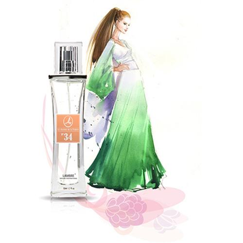 Духи и парфюмированная вода LAMBRE №34 – аналогичны Dalissime от Salvador Dali