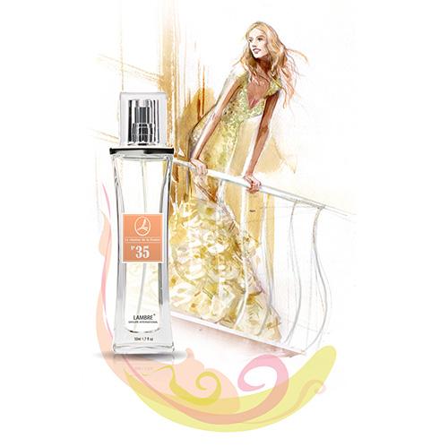 Духи и парфюмированная вода LAMBRE №35 – для поклонниц J'adore (Я обожаю) от Christian Dior