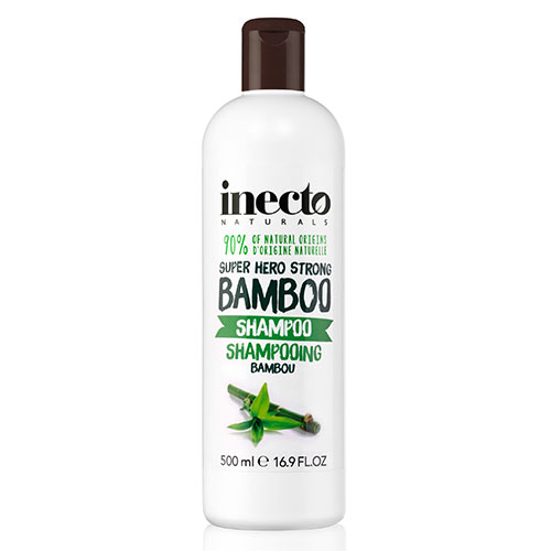 Шампунь увлажняющий для волос с экстрактом бамбука Inecto Naturals Bamboo Shampoo