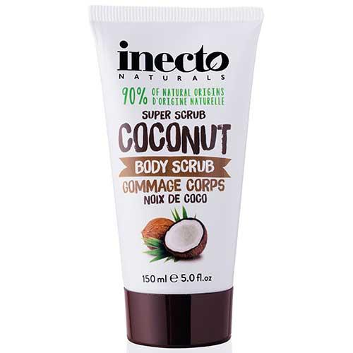 Скраб для тела с маслом кокоса Inecto 150 ml